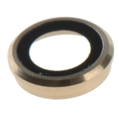 Pelindung Lensa Kamera Ring Lingkaran + Bracket + Flash untuk IPhone 6 PLUS 5.5