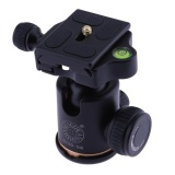 Camera Panoramic Pan Tilt 360 Degree Fine Hydraulic Damping Ball Head Black Intl Vakind Murah Di Hong Kong Sar Tiongkok