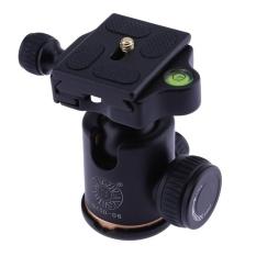 Review Tentang Camera Panoramic Pan Tilt 360 Degree Fine Hydraulic Damping Ball Head Black Intl