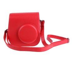 Kamera Strap Bag Pouch Protector untuk Foto Polaroid Kamera (Merah)-Intl