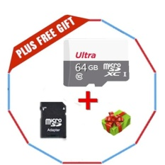 Beli Kamera Micro Kartu Sd Ultra 64 Gb 80 Mb S C10 Microsdxc Uhs I Kartu Memori Dengan Adapter Intl Terbaru