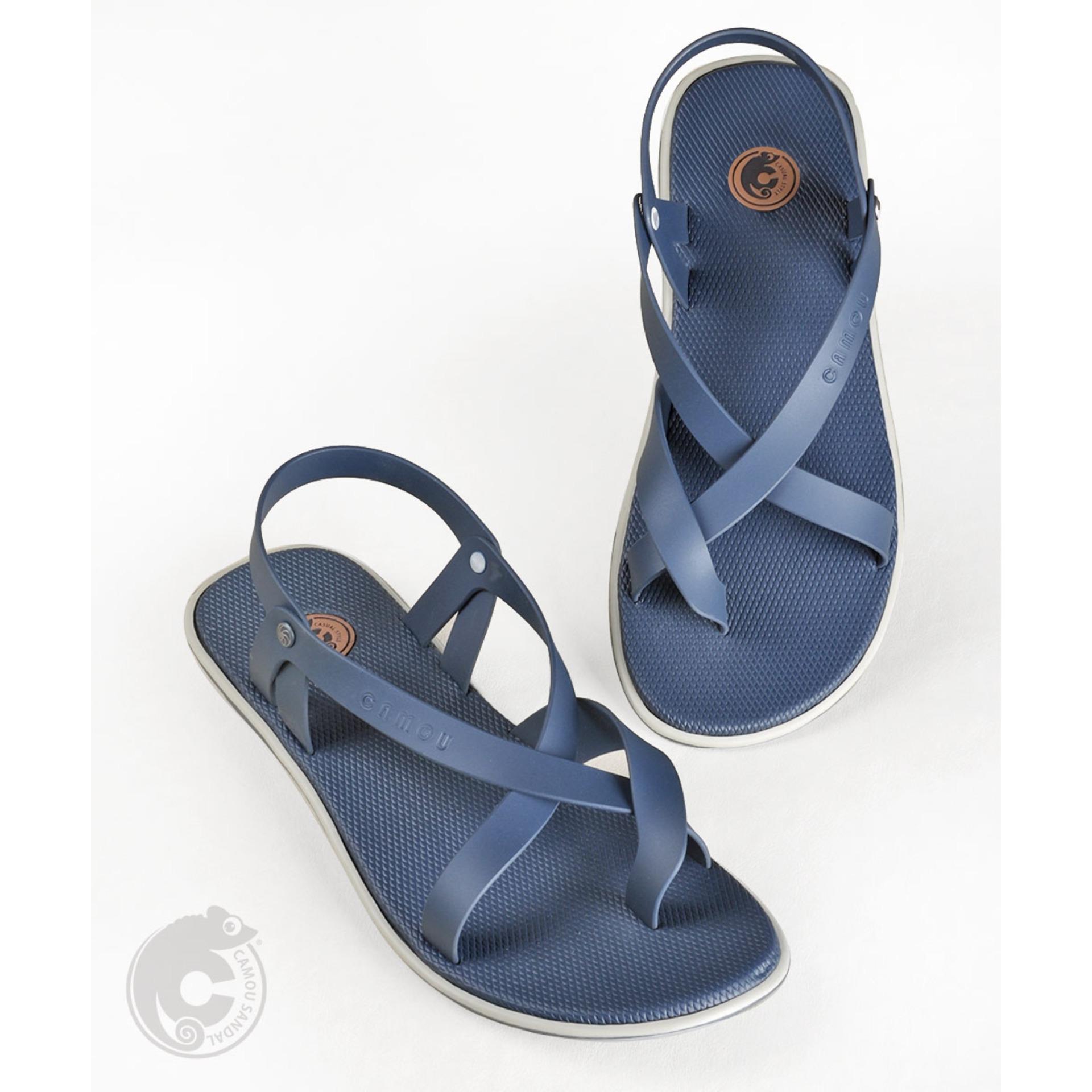 Promo Camou Alvaro Cobalt Sandal Pria Sandal Tali Murah