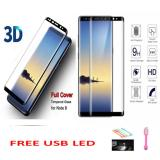 Jual Candy Original Full Coverage Tempered Glass Protector Film 26M 9H Hardness Glass Premium 3D For Samsung Galaxy Note 8 Japan Material Glass Black Free Usb Led Lamp Candy Branded