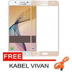 Toko Candy Tempered Glass For Samsung Galaxy J7 Prime Ultra Screen Protector Gold Free Kabel Data Vivan Online Di Dki Jakarta