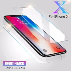 Jual Beli Candy Tempered Glass Iphone X Front Back Not Full Cover Clear Di Dki Jakarta