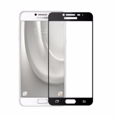 Harga Candy Tempered Glass Samsung Galaxy C9 Pro Full Cover Black Asli Candy