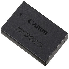 Spesifikasi Canon Battery Lp E17 For 750D 760D Hitam Murah