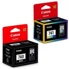 Beli Canon Cartridge Pg 740 Black Cl 741 Color North Sumatra