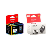 Canon Cartridge PG-740 Black + CL-741 Color