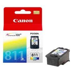 Kualitas Canon Cl 811Xl Fine Cartridge Tinta Printer Multi Warna Canon