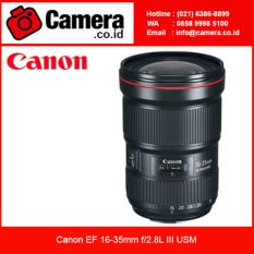 Canon EF 16-35mm f/2.8L III USM - Lensa Canon - Lensa Wide zoom
