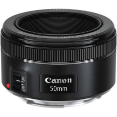 Canon EF 50mm f/1.8 STM - Hitam