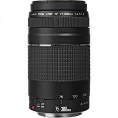 Canon EF 75-300mm F/4-5.6 III Telephoto Zoom Lensa untuk Canon EOS 7D, 60D, EOS 70D Rebel SL1, T1i, T2i, T3, T3i, T4i, T5, T5i, XS, XSI, XT & XTi Digital SLR Kamera dengan Aksesoris-Intl