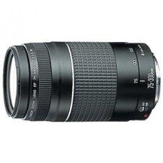Canon EF 75-300 Mm F/4-5.6 III Zoom Potret Jarak Jauh Lensa untuk Kamera Canon SLR-Intl