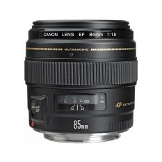 Canon EF 85mm f/1.8 USM Lens - Hitam