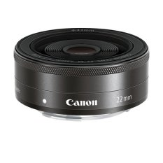 Canon EF-M 22mm f/2 STM - Hitam