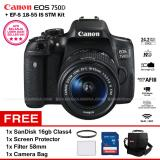 Jual Canon Eos 750D Ef S 18 55 Is Stm Kit Lens Wifi 24 2Mp 19Af Point Vari Angle Lcd Full Hd Filter 58Mm Screen Protector Sandisk 16Gb Camera Bag Antik