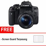 Canon Eos 750D Kit 18 55Mm Is Stm Free Screen Protector Hitam Diskon Dki Jakarta