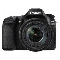 Canon EOS 80D Kit 18-135mm IS USM WiFi - Hitam