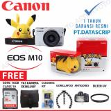 Jual Canon Eos M10 Canon M10 Kit 15 45Mm Paket Dahsyat 16Gb Branded Original
