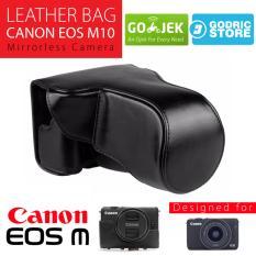 Dimana Beli Canon Eos M10 Leather Bag Case Tas Kulit Kamera Mirrorless 15 45 Mm 18 55 Mm Hitam Canon