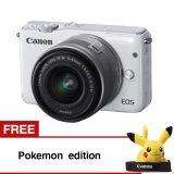 Harga Canon Eos M10 White With Ef M15 45Mm Gratis Pokemon Edition Seken