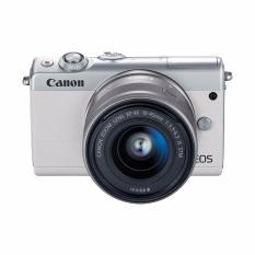 Canon EOS M100 Kit 15-45mm Kamera Mirrorless - 24.2MP