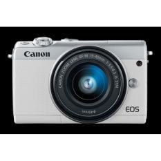 Canon EOS M100 Kit Datascript Free Tas Kamera dan Filter UV Pelindung Lensa