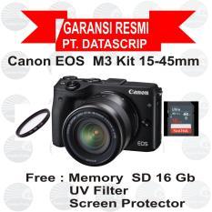 Harga Canon Eos M3 Kit 15 45 Mm Black Yang Murah Dan Bagus
