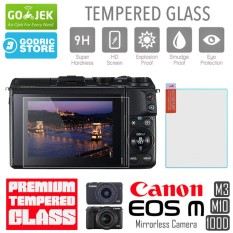 Canon EOS M3 M10 100D LCD Tempered Glass Screen Protector Anti Gores