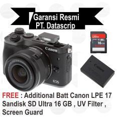 Canon Eos M6 Kit 15-45 mm Black