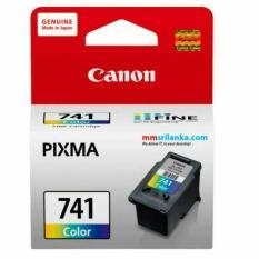 Cuci Gudang Canon Ink Cartridge Cl 741 Colour Original