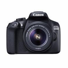 Harga Canon Kamera Eos 1300D Lens Kit Ef S 18 55 Is Ii 18 Mp Hitam Fullset Murah