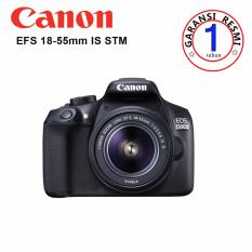 Canon Kamera EOS 1300d Lens Kit EF-S 18-55 IS II - 18 MP - Hitam ( Garansi Resmi)
