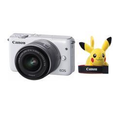 Canon Kamera Mirrorless EOS M10 Kit M15-45mm IS STM + Free LCD Screen Guard