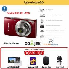 Canon Kamera Pocket Ixus 185 Merah 20 Megapixels Free Aksessories Kamera Canon Diskon 50