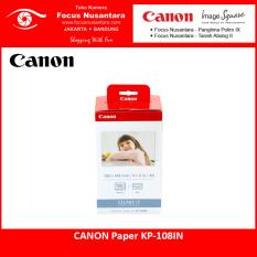 Canon KP-108IN Color Ink/Paper Set for Selphy Printer