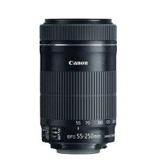 Canon Lensa EF-S 55-250mm f/4-5.6 IS STM - Hitam