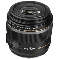 Canon Lensa Ef S 60mm F/2.8 Macro Usm