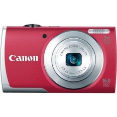 Canon PowerShot A2600 16.0 MP Digital Kamera dengan 5x Optik Zoom dan 720 P Perekaman Video Penuh HD (Merah) (Model Lama)-Internasional