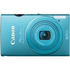 Canon PowerShot Elph 110 HS 16.1 MP CMOS Digital Kamera dengan 5x Optik Zoom 24 Mm Lebar sudut Lensa dan 1080 P Penuh HD Video Recording (Biru) -Internasional