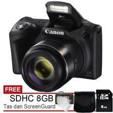 Canon Powershot Sx420 Is Wifi Nfc 20Mp Gratis Sdhc 8Gb Tas Screenguard Asli