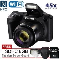 Canon Powershot SX430 IS - 20MP + Gratis SDHC 8GB + Tas + ScreenGuard