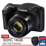 Canon Powershot Sx430 Is 20Mp Wifi Gratis Sdhc 16Gb Dan Tas Murah