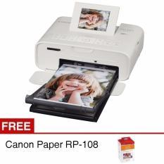 Canon Printer Selphy Cp1200 Wifi - Putih + Gratis Canon Paper RP-108