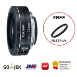 Promo Canon Wide Angle Lens Ef S 24Mm F 2 8 Free Filter Uv Murah