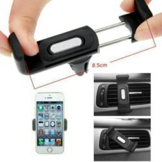 CantiQue Ventilasi Holder Phone Holder Mobil AC / Vent Car Holder Clip Magnetic Holder (HP)  - Black