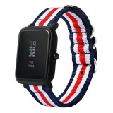 Katalog Canvas Watch Band Tali Dengan Gesper Konektor Untuk Xiaomi Amazfit Olahraga Intl Terbaru