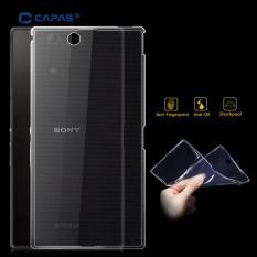 TOPIAS Transparan Fleksibel TPU Case Pelindung Kulit Shell Perumahan Pelindung Kasus untuk Sony Xperia Z Ultra XL39h-Intl