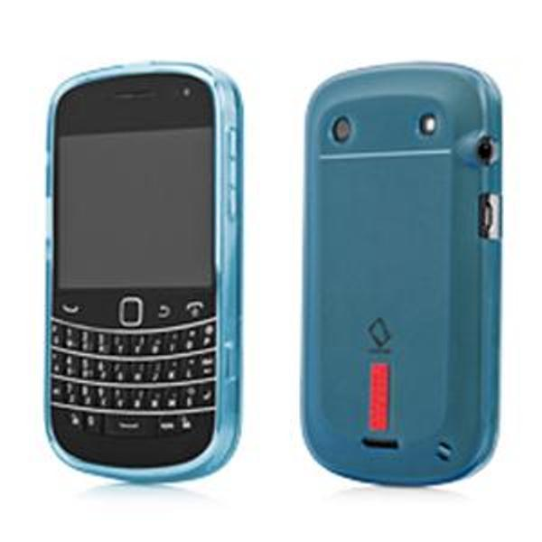 Jual Capdase Blackberry 9900 Dakota Case Soft Jacket Xpose Biru Branded Murah